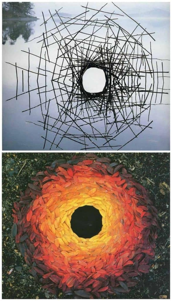 andy goldsworthy installation art