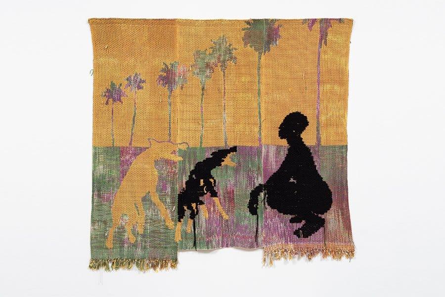 Diedrick Brackens figural weaving