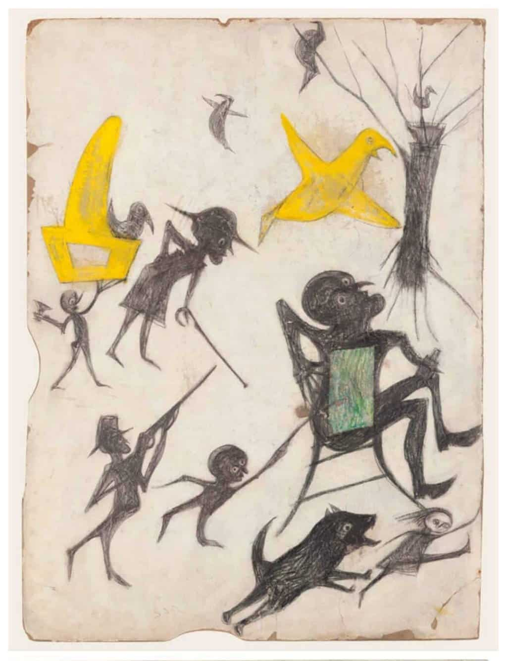 Artwork by Bill Traylor - Outsider Artists