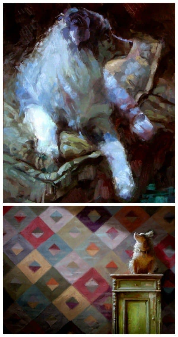 Lisa Keene dog paintings